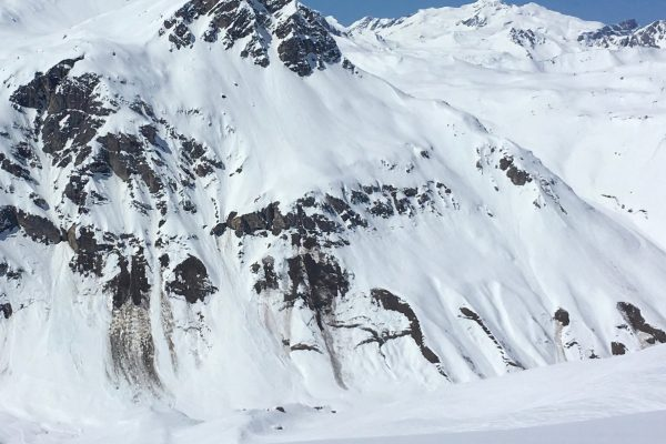 Glide cracks mean snowpack stability