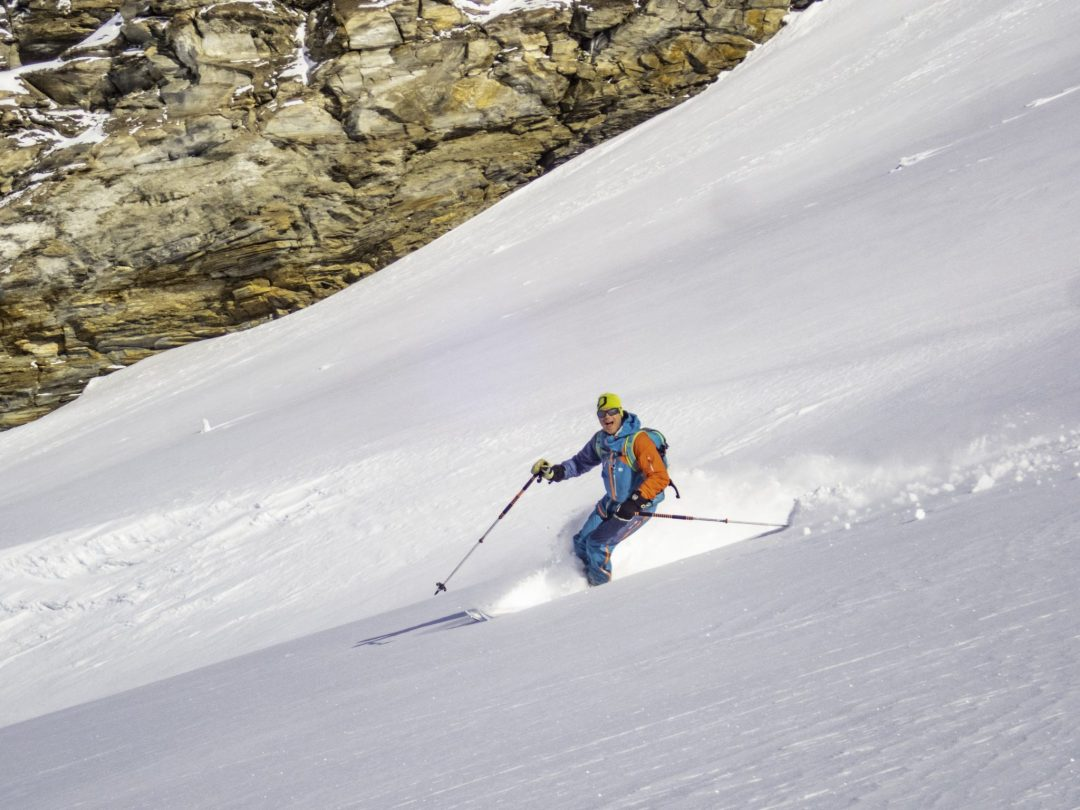 Henry Schniewind skiing in Val d'Isere
