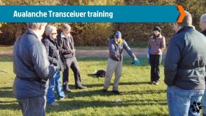 Avalanche Transceiver training Wimbledon Common, Henry's Avalanche Talk