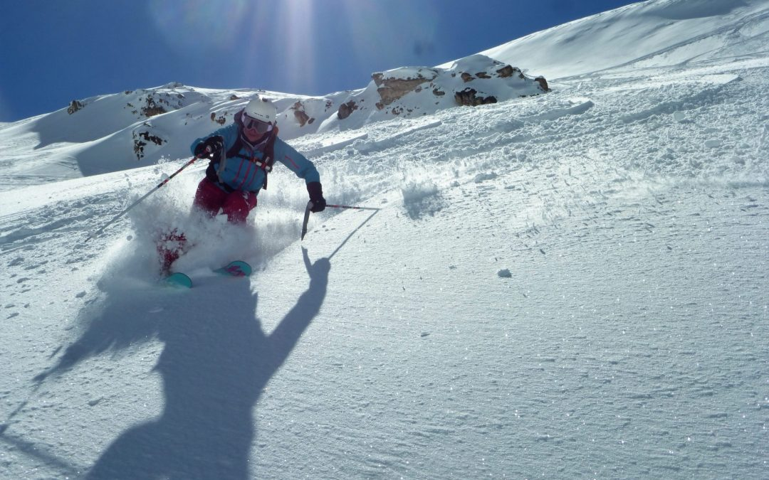 Off-piste snow report, N French Alps, 13th – 19th March 2020