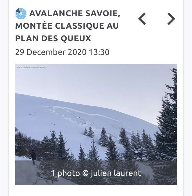 "Recent Avalanche Activity: remote triggering ""à distance"""