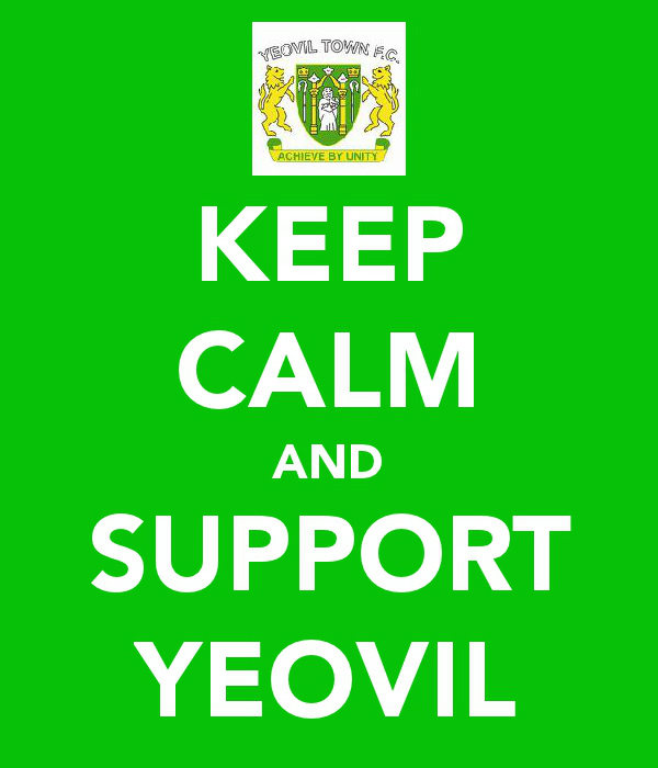 Yeovil Town -keep calm