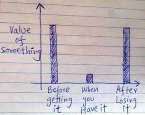 value of something