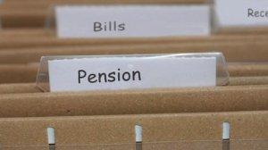 unage of pension