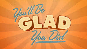 Glad you did