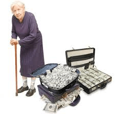 Greedy old people