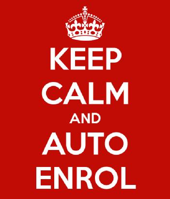 keep calm and auto-enrol