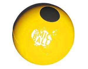 yellow mike ball