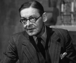 2nd June 1951: American-English poet and playwright, TS Eliot (1888 - 1965). He wrote amongst many other things, 'The Waste Land ' and the plays, 'The Cocktail Party' and 'Murder in the Cathedral'. Original Publication: Picture Post - 5314 - Are Poets Really Necessary? - pub. 1951 (Photo by George Douglas/Picture Post/Getty Images)