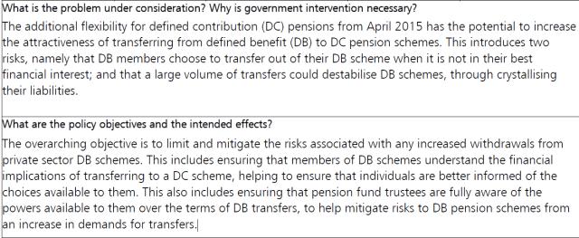Treasury DB transfers