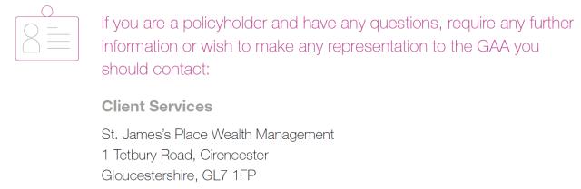 SJP policyholders