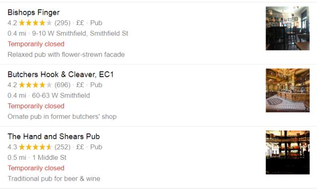 city pubs