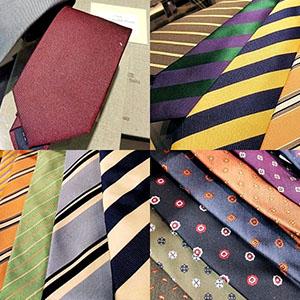 たくさんのネクタイ