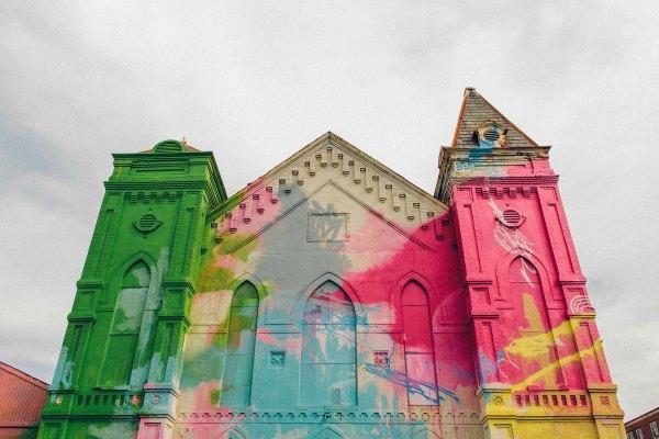 Church Art Installation