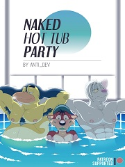 Naked Hot Tub Party- [By Anti-Dev]