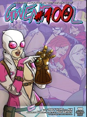 Gwenpool #100- [By Tracy Scops]