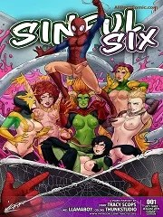 Sinful Six- Spider-Man [By Tracy Scops]