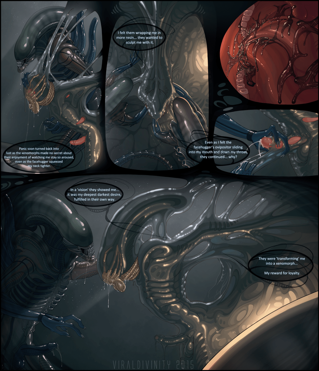 Showing images for alien xenomorph transformation porn