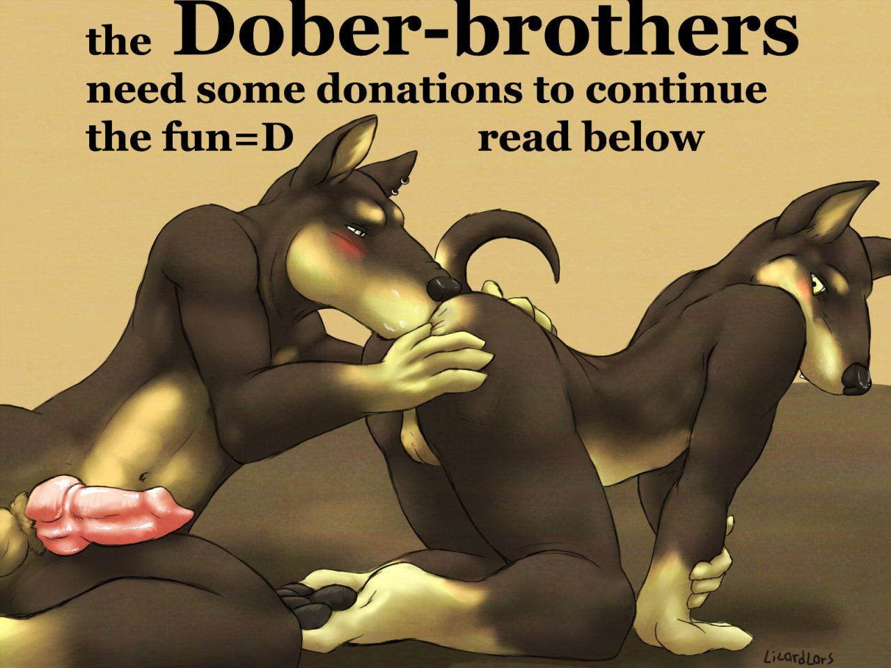 Dober Brothers Love by Lizardlars Hentai Online porn manga and Doujinshi