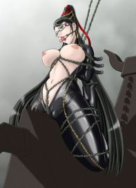 Japanese Bayonetta Hentai Drawing 11