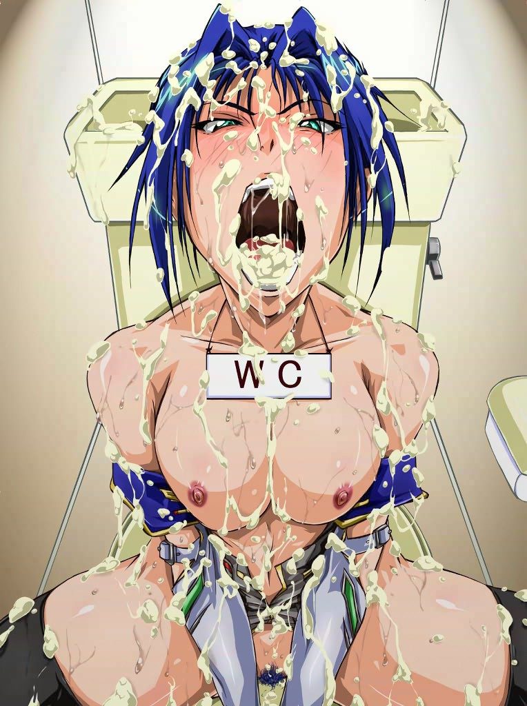Japanese Cumshot Hentai Drawing 02