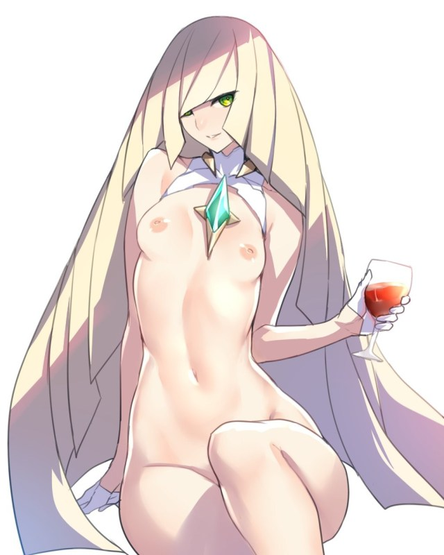 Thirty Pokemon Hentai Drawings Featuring Lusamine