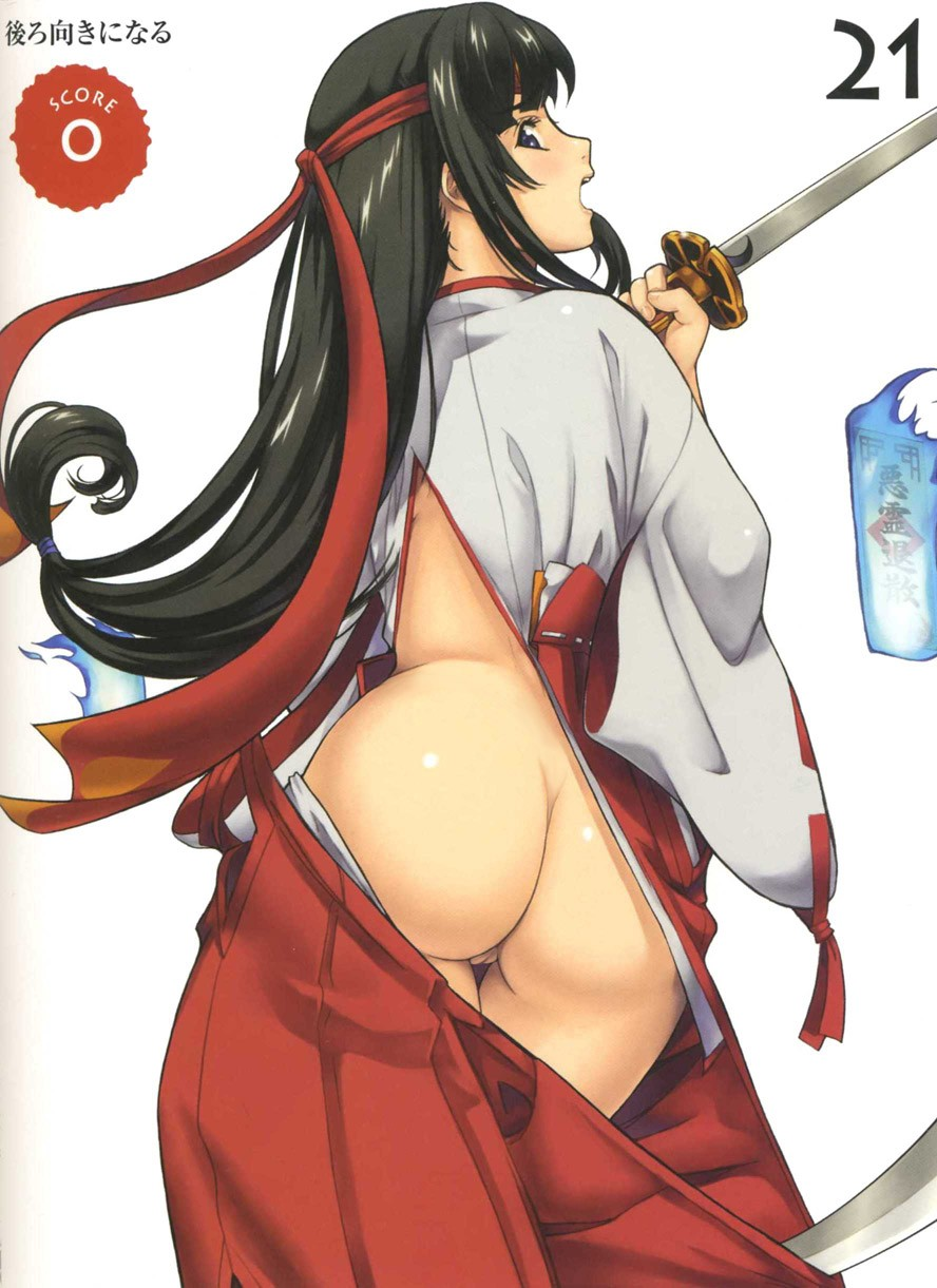 Queen's Blade Tomoe Hentai Drawing 13