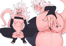 Android 21 Dragon Ball FighterZ Hentai 13