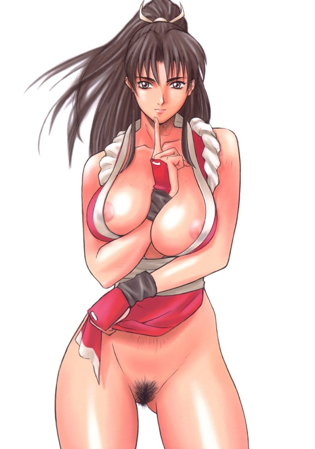 King Of Fighters Hentai Drawings Featuring Mai Shiranui