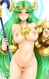 Cute And Naked Green Haired Hentai Girls