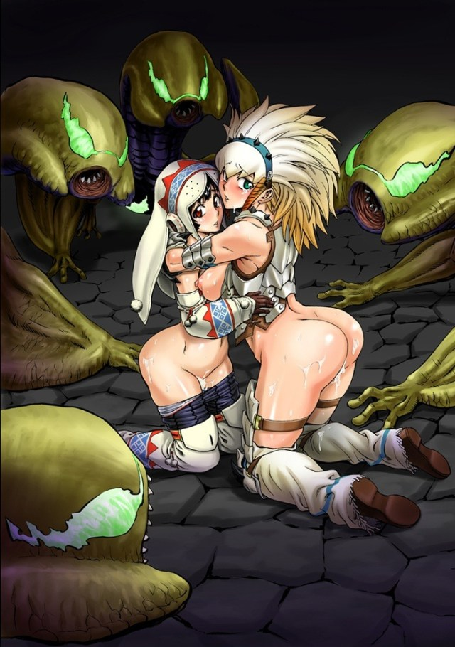 More Monster Hunter Series Hentai Drawings