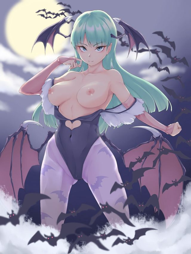 More Hentai Pictures Of Morrigan Aensland From Darkstalkers
