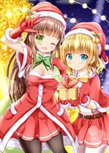 Christmas Themed Japanese Moe Artwork 15
