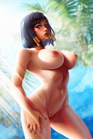 Thirty Hentai Drawings Of Pharah From Overwatch