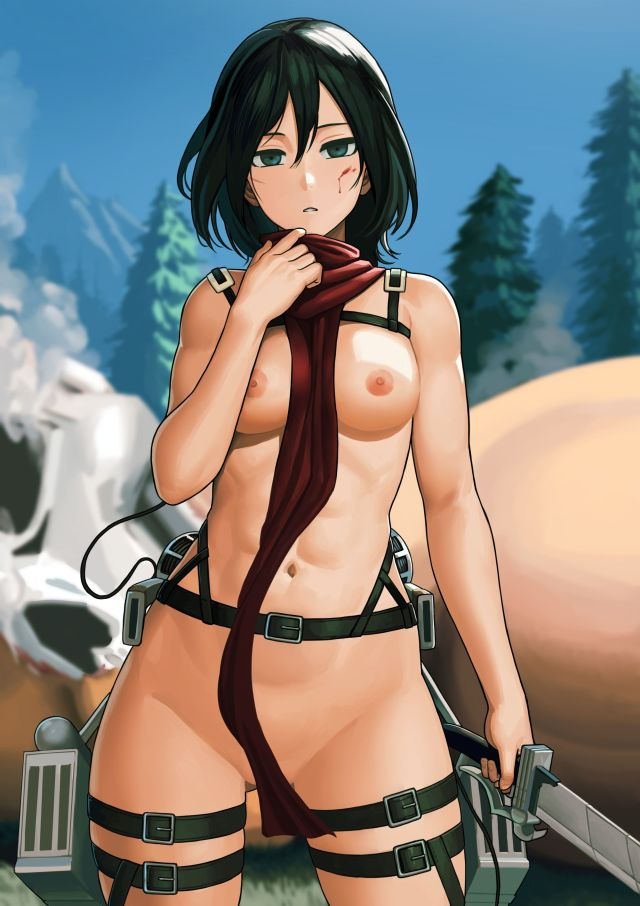 More Mikasa Ackerman Attack on Titan Hentai Pics