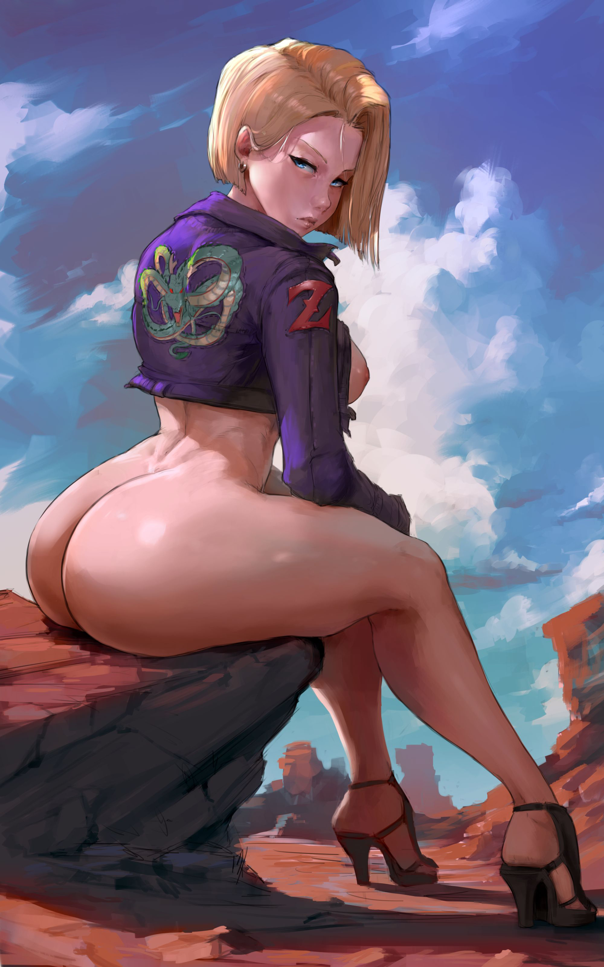 Android 18 Anime Porn Solo android 18 dragon ball hentai 02 - hentai pussy pics