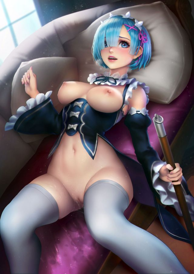 Thirty More Hentai Pics Of Rem From Re:Zero
