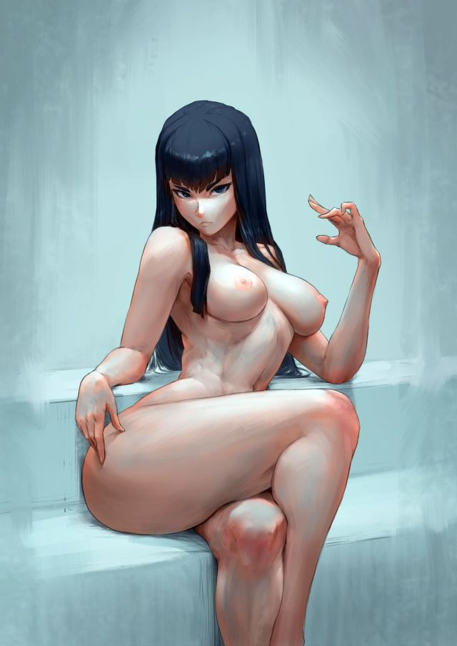 More Kill La Kill Hentai Drawings Of Satsuki Kiryuuin