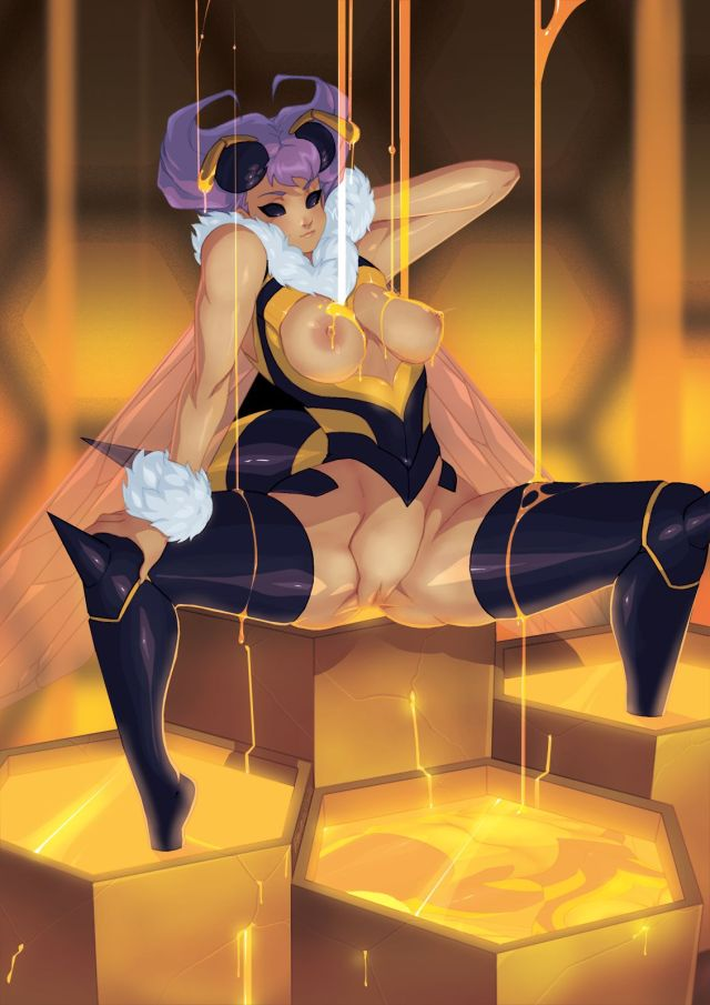 Thirty Hentai Pictures Of Q-Bee From Darkstalkers