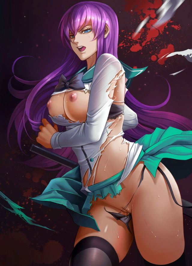 More Saeko Busujima Hentai From Highschool Of The Dead