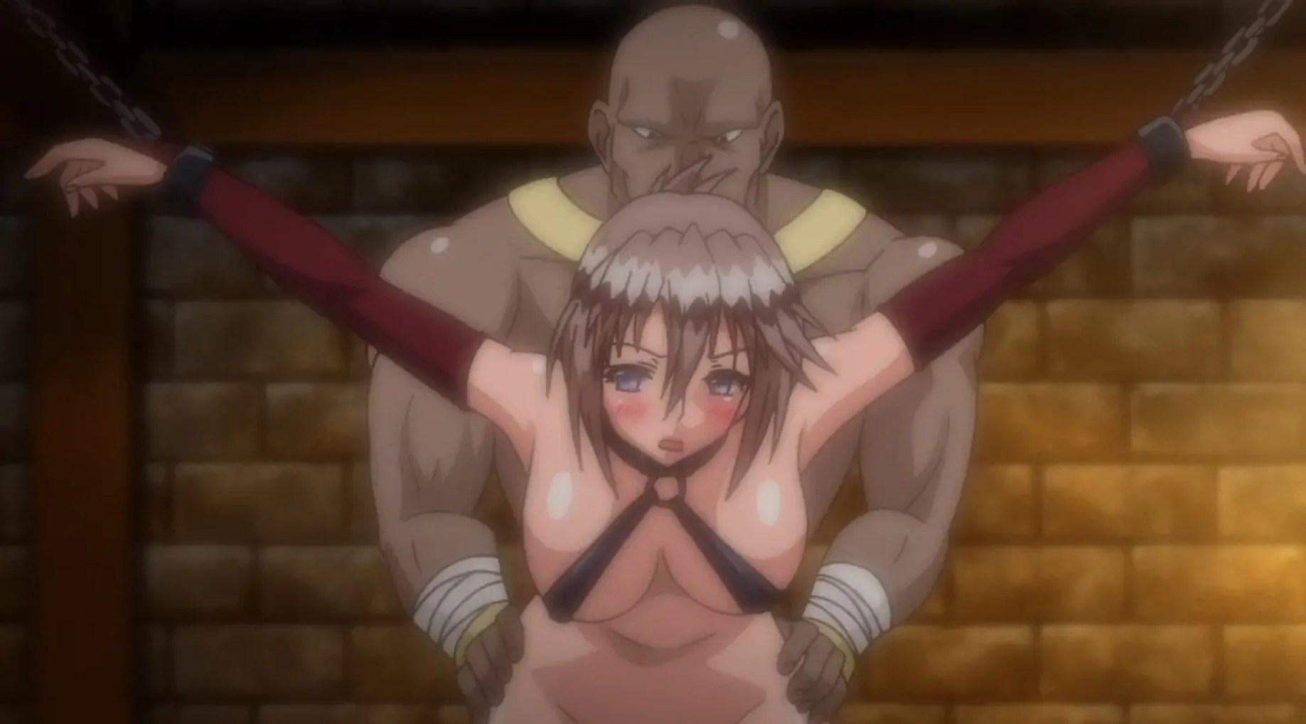 Anime girl loses virginity