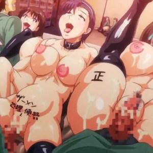 Schoolgirl BDSM Hentai Anime: Dropout