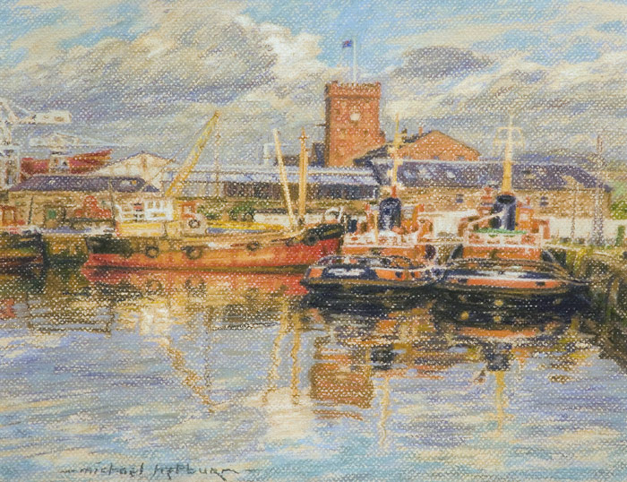 Clyde shipping tugs (Victoria Harbour, Greenock)
