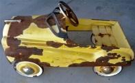 Yellow Pedal Car