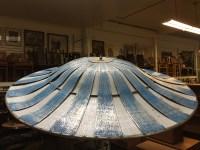 50s Sundrella Aluminum Patio Umbrella | Hepcats Haven