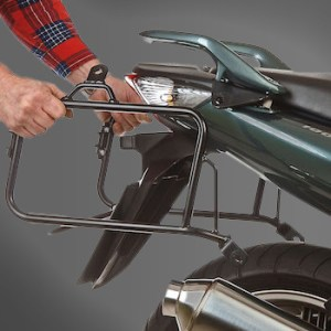 Lock-it mounted luggage carrier Hepco&Becker