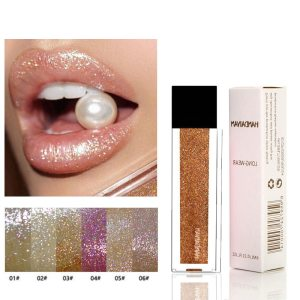 Glitter Makeup Lip Gloss