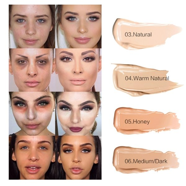 Full Cover 8 Colors Liquid Concealer Makeup