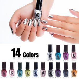6ml Mirror Effect Metallic Nail Polish