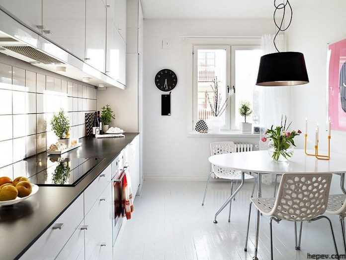 Beautiful Minimalist Modern Kitchen Swedish Family House Interior Ideas